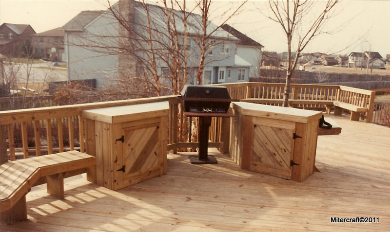 ... Custom BBQ Cabinets With Ceramic Tops ...