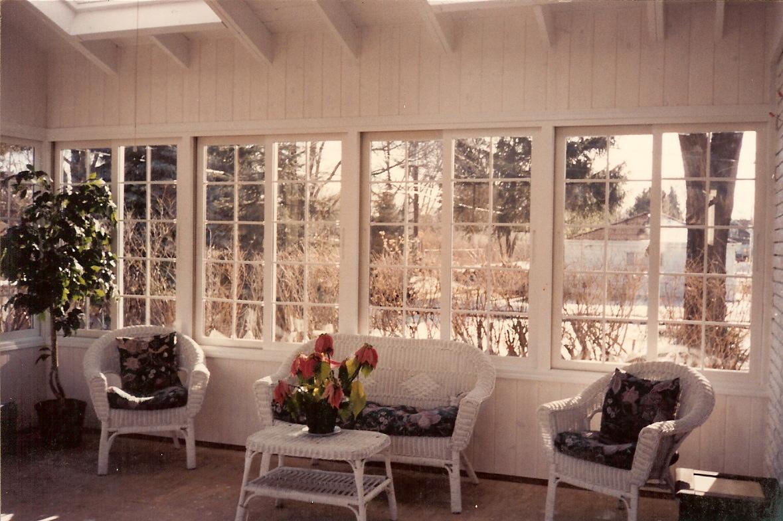 Three Season Room Interior